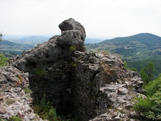Asara fortress near Zvezdel village